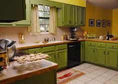 john deere kitchen-- maybe this is a little much, but it's kind of cool too!