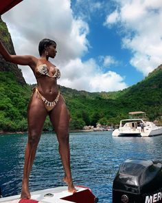 Brown Skin, Dark Skin, Black Girl Magic, Black Girls, Charter Boat, Black Girl Aesthetic, Beautiful Black Women, Cruise, Monkey Wallpaper