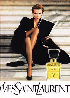 Y Yves Saint Laurent perfume - a fragrance for women 1964 Vintage Ysl, Vintage Perfume, Vintage Fashion, Vintage Couture, Perfume Lady Million, Giorgio Armani, Anuncio Perfume, Perfume Adverts, 80s Style