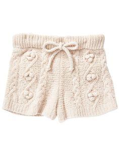 moco moco 'souffle' pom shorts (shorts) | gelato pique (gelato pique) | rabbit online official shopping site