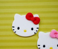 Fondant Hello Kitty Cupcake Toppers