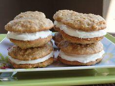 Zucchini Cake Sandwich Cookies