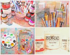 Alma Stoller: How to paint on magazine pages (and recycle all those catalogs we get in the mail)