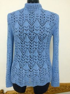 Click to view pattern for - Knitted sweater