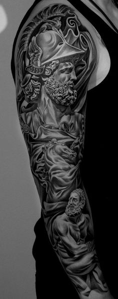 greek mythology tattoo - Google-søgning | Roman and greek ...