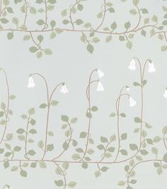 Pretty wallpaper for the bedroom...