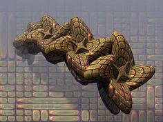 Swarming, digital art by Dozo