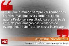 #AugustusNicodemos, #Evangelho, #Cristianismo