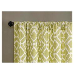 "Natalie Global Fretwork Curtain Panel - Green (42""x84"") : Target"