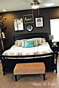 Master Bedroom Wall Makeover House of Rose