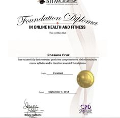 Health & Fitness CPD Certified & Member ...  Coaching is soon to be available .... Personal Nutritionist  CPD Certification is in progress!