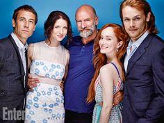 San Diego Comic-Con 2014 | Tobias Menzies, Caitriona Balfe, Graham McTavish, Lotte Verbeek, Sam Heughan, Outlander