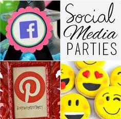 Social Media Themed