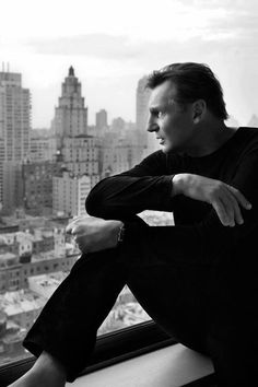 Liam Neeson...My favorite actor!  He is pretty fine too :)