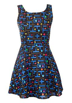 $70 instead of $80 Folter Retro Pacman Video Game A-Line Dress-Black-Medium Folter http://www.amazon.com/dp/B01C6IH6O6/ref=cm_sw_r_pi_dp_C3S-wb00QR30W