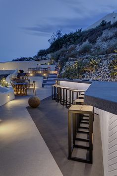 Asea Lounge, Santorini, Greece by Interior Design Laboratorium