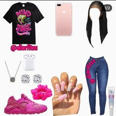 Source by jasminebarroso Cute outfits baddie Boujee Outfits, Baddie Outfits Casual, Swag Outfits For Girls, Cute Teen Outfits, Cute Outfits For School, Teenage Girl Outfits, Teenager Outfits, Dope Outfits, Winter Fashion Outfits