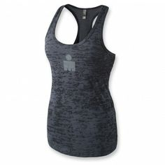 203d7fcb1583f IRONMAN Women s Classic Burnout Tank - Black
