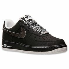 reputable site 1824b e9a93 Men s Nike Air Force 1 Low Casual Shoes   FinishLine.com   Black White