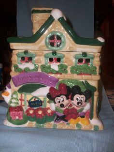 Mickey and friends cookie jar