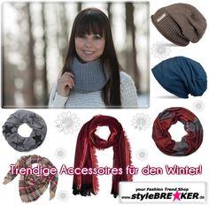 ★ ★ ★ Shopping Tipp ✩ ✩ ✩ Wer sucht sie nicht, Trendige Accessoires für den Winter. Solltet Ihr noch nicht fündig geworden sein, unter https://www.stylebreaker.de/ findet Ihr bestimmt das richtige!