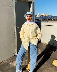 Modern Hijab Fashion, Street Hijab Fashion, Hijab Fashion Inspiration, Muslim Fashion, Mode Inspiration, Aesthetic Fashion, Aesthetic Clothes, Fashion Outfits, Modest Fashion