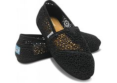 lace toms...I want these!