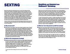 sexting mobile phone and new hampshire essay For more information on the laws and policies in your state, the cyberbullying research center provides an up-to-date pdf with descriptions of all current laws throughout the united states sexting laws as of july 2015, only 20 states had sexting laws in place.