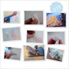 DIY Snoep papiertjes Free printable paper
