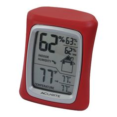 AcuRite 00327 Home Comfort Monitor Red -- Click on the image for additional details. (This is an affiliate link and I receive a commission for the sales)