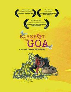 Poster Of Barefoot to Goa 2015 Hindi 720p DVDRip ESubs Watch Online Free Download Worldfree4u
