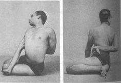 Mr. Iyengar in Bharadvajasana