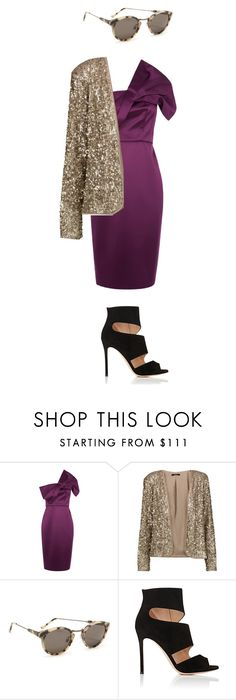 """""""Party"""" by catmlnguyen ❤ liked on Polyvore featuring Tart, RetroSuperFuture and Gianvito Rossi"""