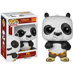 This is a Kung Fu Panda Po POP Vinyl Figure that is made by the good people over at Funko. It's super cool to see that the Kung Fu Panda characters are getting the Funko POP Vinyl treatment. Funk Pop, Pop Figurine, Figurines Funko Pop, Funko Figures, Disney Pop, Pop Vinyl Figures, Po Kung Fu Panda, Flocked Funko Pop, Armadura Cosplay