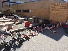We were well-equipped for the PLANET Day of service service project. #realstihl