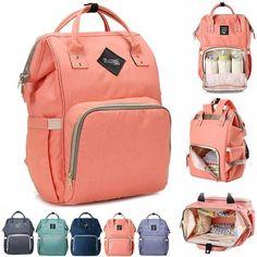 Mummy Maternity Nappy Diaper Bag Large Capacity Baby Bag Travel Backpack #Waq