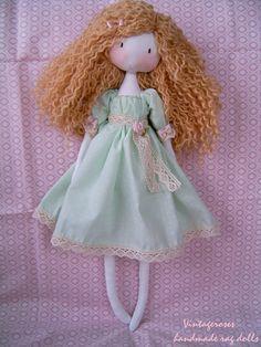 https://flic.kr/p/BJQDar | Handmade rag doll | Handmade rag doll.Waldorf doll.Soft doll. Custom home-made rag dolls, bags, vanity vintage style lovers. tildaskedvenc.blogspot.hu/
