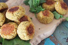 The Intolerant Gourmet - Baked Falafel (gluten free, vegan, dairy free, eggfree)