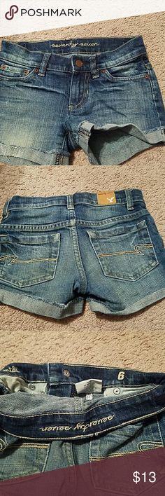 Shorts Girls denim shorts great condition! seventy seven Bottoms Shorts