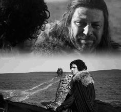 """""""The next time we see each other, we'll talk about your mother."""" —Ned Stark to Jon Snow"""