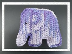 Crochet Elephant Amigurumi Free Pattern with Video Crochet 101, Crochet Baby Toys, Crochet Amigurumi, Love Crochet, Crochet Animals, Crochet Stitches, Crochet Patterns, Crochet Hats, Baby Shower Gifts