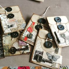 Quiet morning creating #collage #journaling #bookmaking #crafting #stampingtonmade #vintageinspired #quiettime #etsyshop