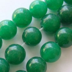 Margele jad malaezian  6mm Gemstone Beads, Jade, Jewelry Accessories, Gemstones, Fimo, Jewelry Findings, Gems, Jewels, Minerals