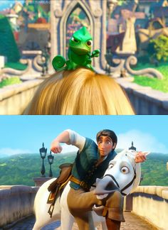 Rapunzel, Pascal & Maximus] (Drawing by Disney) Walt Disney, Disney Nerd, Disney Memes, Disney Magic, Punk Disney, Disney Facts, Flynn Rider, Rapunzel Flynn, Disney Rapunzel