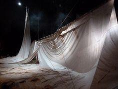 un spectateur: James Thierrée - Raoul - Théâtre de la Ville Prop Design, Stage Design, Winter Tent, Flying Dutchman, The Little Prince, Pinocchio, Design Inspiration, Scene, Puppet