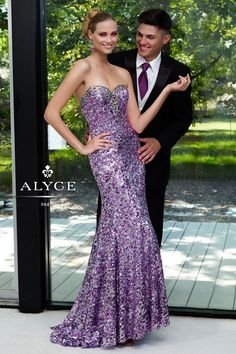 Prom Dress by Alyce Paris6106Get Glowing!