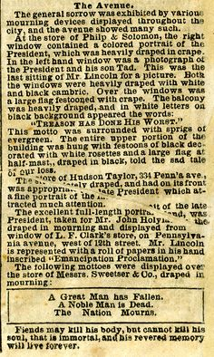 Remembering Lincoln is an IMLS-funded project of Ford's Theatre Society that serves to engage teachers, students, enthusiasts and scholars with primary sources detailing responses to the Lincoln assassination. Ap Us History, Black History, Abraham Lincoln Family, Hudson Taylor, Lincoln Assassination, Dead Presidents, History Classroom, Historical Pictures, American Civil War
