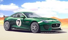 Jaguar F-Type GT3 by Theophilus Chin.