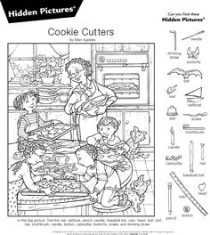"""The """"social health""""-aspect in those hidden pictures is at least twofold: your patience gets trained resp. tested each time and you get to know that just because you don't see it doesn't mean it's not there. Craft Projects For Kids, Craft Activities For Kids, Colouring Pages, Coloring Pages For Kids, Hidden Pictures Printables, Highlights Hidden Pictures, Butterfly Bat, Hidden Picture Puzzles, Hidden Images"""