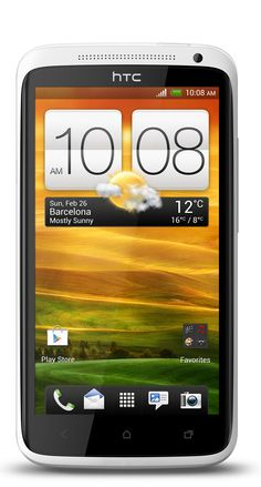 HTC One- X: HTC One X- s el smartphone más poderoso de la nueva línea HTC One. Posee una pantalla HD 720p de 4.7 pulgadas con tecnología Gorilla Glass, procesador quad-core Tegra 3 a 1.5GHz, cámara de 8 megapixels con captura de video full HD, Beats Audio, 1GB de RAM, 32GB de almacenamiento interno y corre Android 4.0 Ice Cream Sandwich con la interfaz de usuario Sense 4.0.